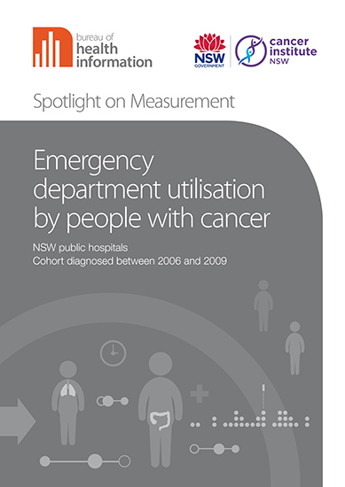 Emergency department utilisation by people with cancer cover image